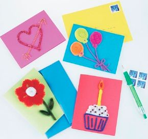 Fuzzy Greeting Cards are a fun way to show how much you care.