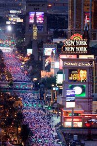 The Las Vegas Marathon participates in an eco-rideshare program.
