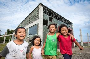 Whether you favor a house with walls made from compact cardboard or a school built with recycled bottles, engineers and architects have made great strides with green design.
