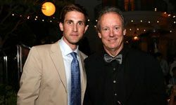 William McDonough (on right) posed for this shot after being honored at the Children's Health Environmental Coalition's (CHEC) annual benefit in 2006.