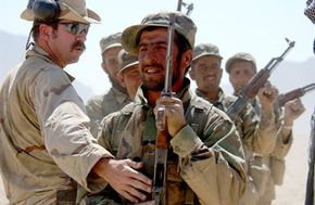 Green Berets help train local military groups in post-hostility environments like Afghanistan.