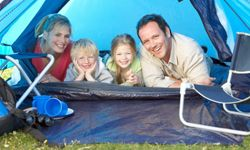 Image Gallery: Camping Keep your camping footprint small. See more pictures of camping.