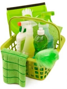 Keeping your home clean can be green, too.