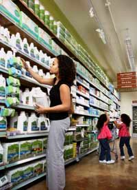 Read labels carefully to learn how green household products actually are.