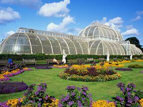 The Kew Gardens in London, England