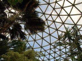 A greenhouse in Queen Elizabeth Park, Vancouver