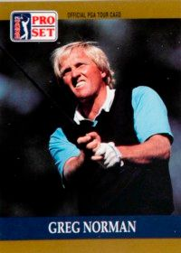 """Greg Norman has been dubbed the """"Great White Shark."""" See more pictures the best golfers."""