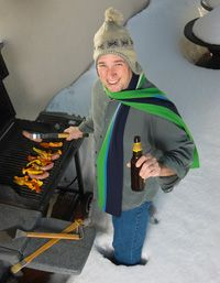 A great attitude can cure a variety of weather-related grilling woes.