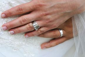 Nails need to look great for those close-ups of the rings.
