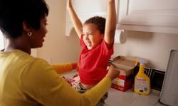While not a food item, laundry detergent consumes a large part of the annual grocery bill.