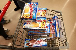 There are probably plenty of reasons someone would be buying a cart full of Twinkies!