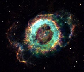 If Hubble couldn't focus, it wouldn't have been able to take this image of a dying star named NGC 6369 on Nov. 7, 2002.