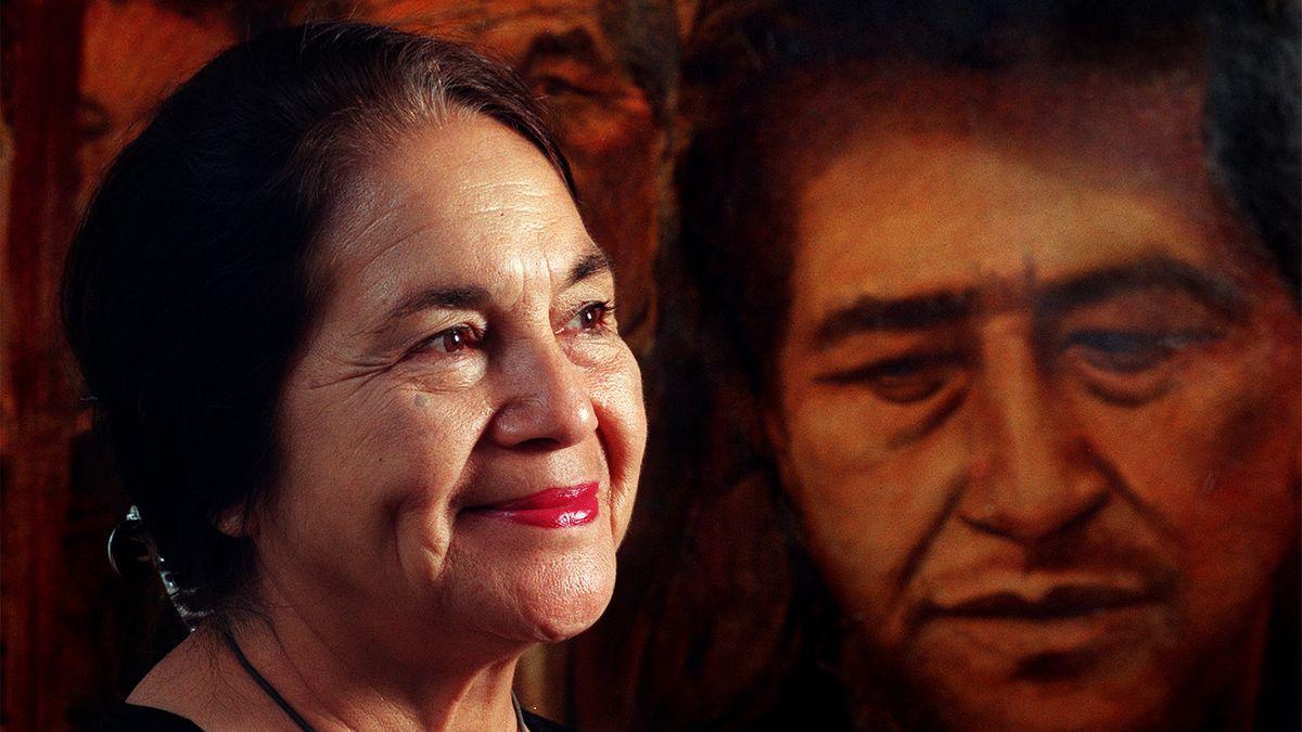 スローガンの背後にある労働活動家ドロレス・ウエルタ「¡Sí、Se Puede!」