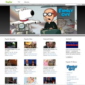 Use the many links on the Hulu main page to browse and find videos. See TV evolution pictures to learn more.