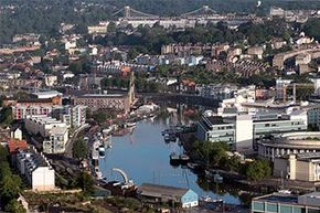 Bristol, England, site of the first hum