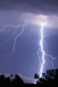 Getting struck by lightning is usually enough to fry your body's electrical system.