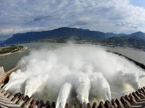 The Three Gorges Dam has already been linked to environmental problems, if not earthquakes.
