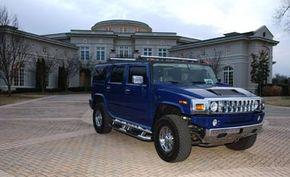 Evander Holyfield's Hummer