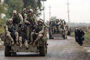 Military Humvees