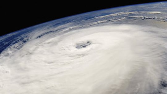 Why do hurricanes seem to move as if they have a mind of their own, and why do they follow such peculiar tracks?