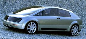 GM's sedan model Hy-wire. See more alternative fuel vehicle pictures.