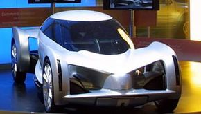 The original AUTOnomy concept car The drivable update of the AUTOnomy, the Hy-wire