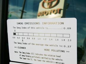 Hybrid cars, when using the gas engine, create pollution like any other conventional vehicle. The use of an electric motor, however, cuts down on that pollution.