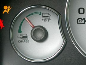 Many hybrid system indicators can coach or guide drivers on fuel efficient habits.