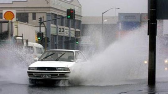 How Hydroplaning Works