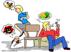 Hypnotism illustration