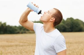 While it is important to stay hydrated as a way to replenish fluids lost to perspiration, sweat is a combination water and salt, and water or sports drinks alone cannot compensate for the sodium depletion that occurs during an event.