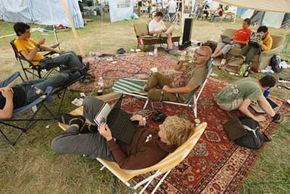 Hackers from around the world gather at camps to practice their hobby and trade tips. See more computer pictures.