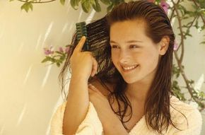 Your hair grows about half a millimeter each day. See more personal hygiene pictures.