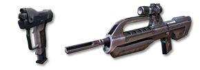 Pistol or battle rifle?