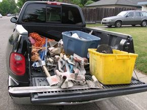 If you just plan to haul furniture or some tools around in your truck, a half-ton pickup will do fine.