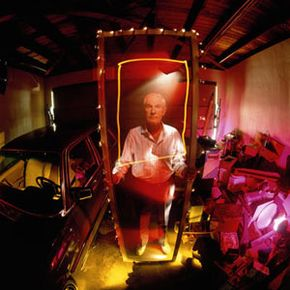 The man himself: Timothy Leary. See controlled substance pictures.