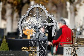 Catholics in Austria mark All Saints' Day by visiting the gravesites of loved ones — and leaving out bread and water for their spirits at home.