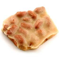 Peanut brittle is a delicious combination of sweet and salty.