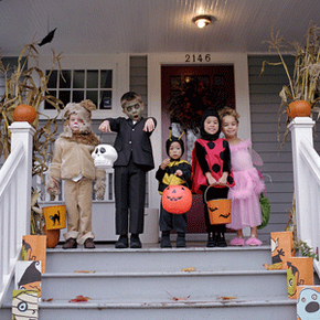 To be safe, Halloween costumes should fit properly and be made from flame-retardant materials.