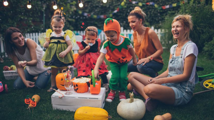 Halloween, costumes, kids, candy