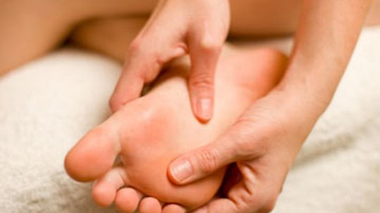 Why is the skin on our hands and feet different?