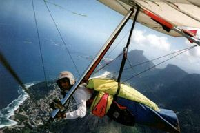 Extreme Sports Image Gallery Hang glider Ramy Yanetz over Rio de Janiero. See more pictures of extreme sports.