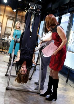 inversion table today show hosts