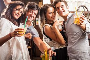 A man may get a hangover after five to eight drinks in a night; a woman, after three to five.