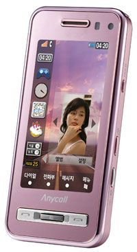 The Samsung Anycall Haptic. See more cell phone pictures.