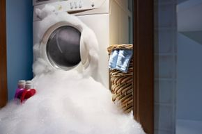 How can germs linger amid all that soap and water?