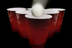 Beer pong: Silly college game and efficient vehicle for transferring bacteria?