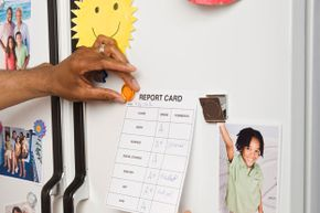 The magnets on your fridge can do double duty as stud finders.