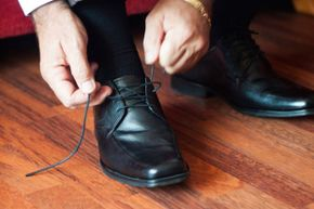 By simply reversing the direction of one lace-tying step, you'll create a more stable knot.