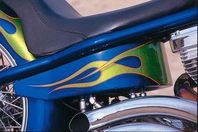 Hard Tail's Cobalt Blue background